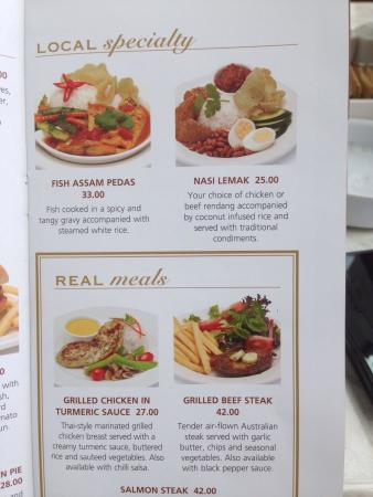 DOME Café: Many dishes to choose