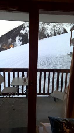 Résidence Odalys Les Alpages du Corbier : Terrasse