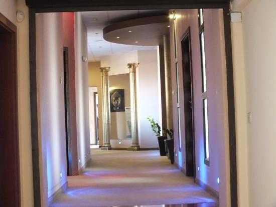 Hotel Magnat Spa Grzybowo: Wejście do SPA