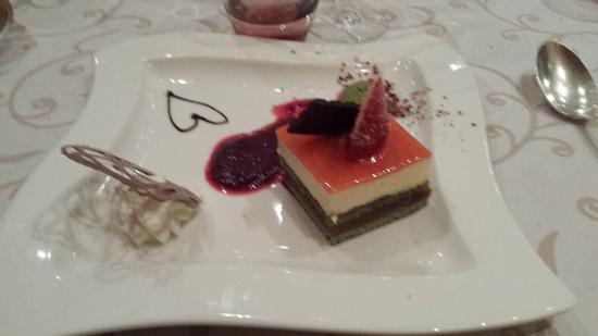 HOSTELLERIE DU MONT-AIME : le dessert