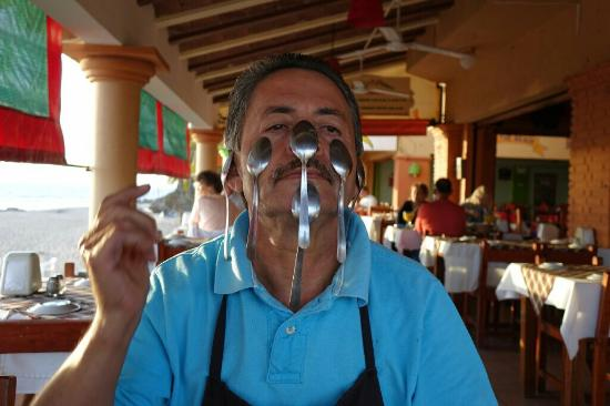 Chile's Pepper: Diego, and his Famous Spoon trick.