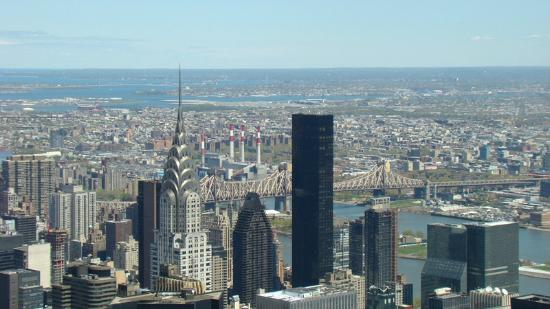 Vistas desde el piso 86 edificio chrysler picture of for Piso 86 empire state
