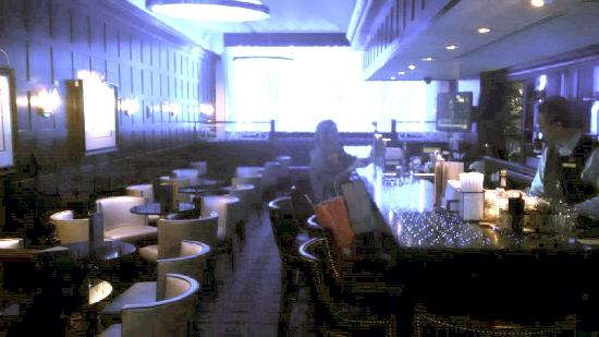 The Blue Bar, Algonquin Hotel : Not busy!