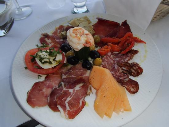 Porto Bello: Appetizer plate