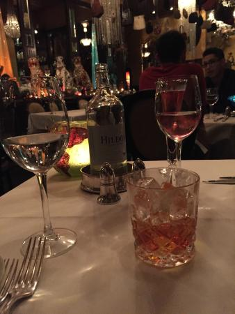 Les Trois Garcons: old fashioned