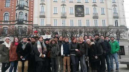 Free Tour Stockholm : our group
