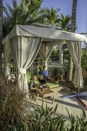 Hyatt Regency Sarasota: Poolside Cabanas