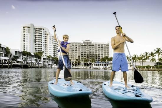 Hyatt Regency Sarasota: Stand Up Paddleboarding