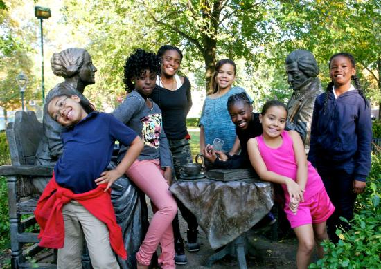 National Susan B. Anthony Museum & House: We offer school-age and scout programming throughout the year.