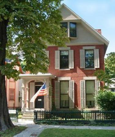 National Susan B. Anthony Museum & House: The Anthony Home at 17 Madison Street in Rochester, NY.