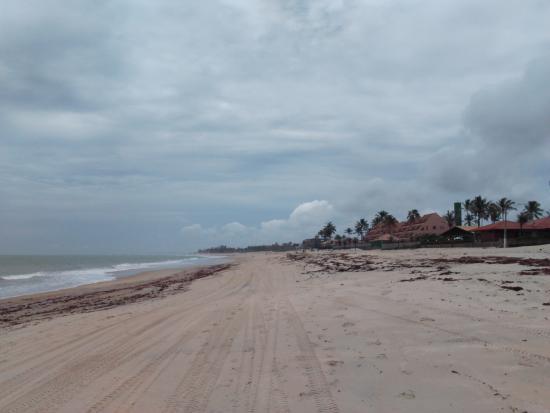 Pousada Kitecabana Cumbuco: praia principal de cumbuco