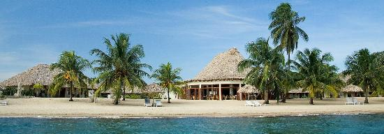 Jaguar Reef Lodge & Spa: View from Sea