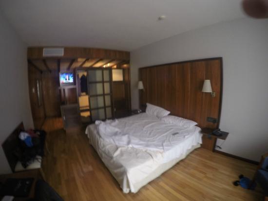 Hotel Dona Brigida: Límpia y amplia