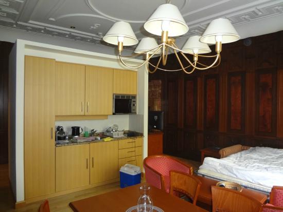 Soggiorno con divano-letto del bilocale - Foto di Hapimag Resort ...