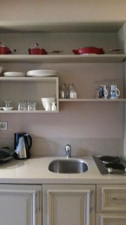 Lokum Ev Suites: Кухня