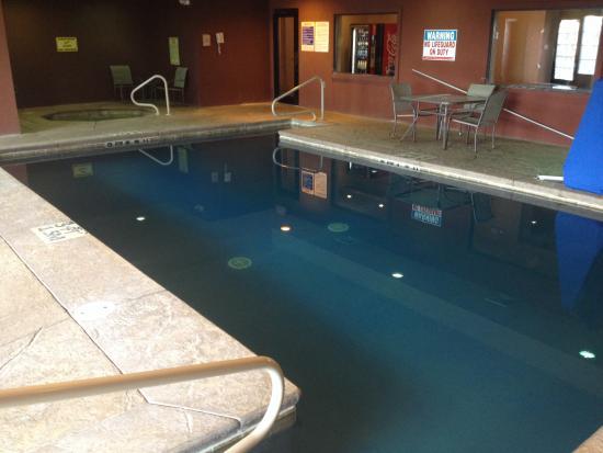 Comfort Inn St. Robert/Fort Leonard Wood: Pool and hot tub