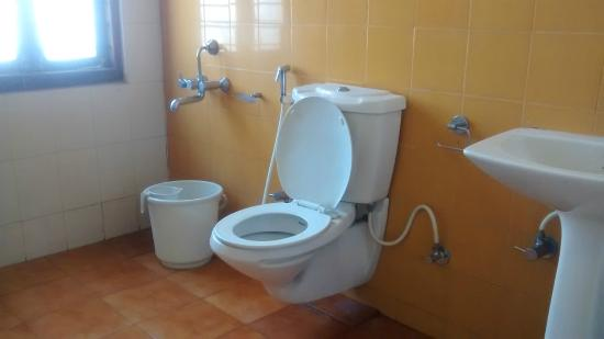 Hotel Sujatha Residency : Bath room