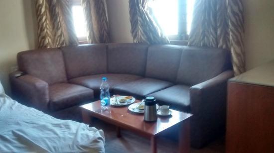Hotel Sujatha Residency: Sofa inside room