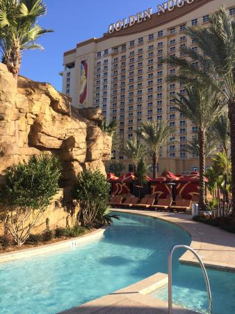 The Lazy River at Golden Nugget, Lake Charles.