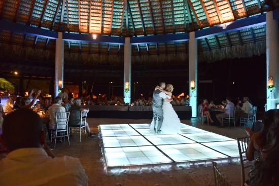 Now Larimar Punta Cana Wedding Reception