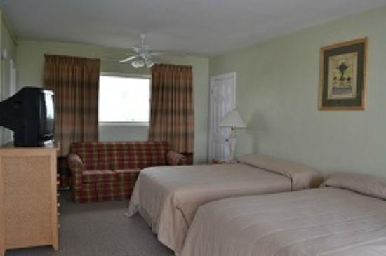 Sta'n Pla Motel: Double queen room