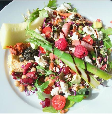 Vejle, Denmark: Sommer Salat....