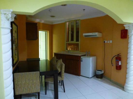 La Villa Hotel: estar