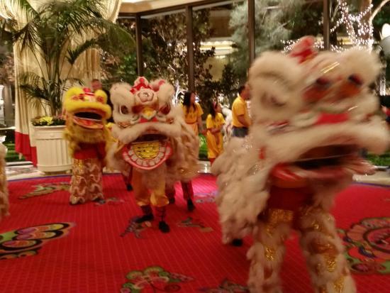 Encore At Wynn Las Vegas Chinese New Year Celebration Lions