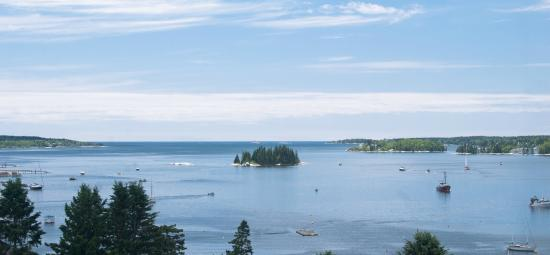 Topside Inn: View of Boothbay Harbor