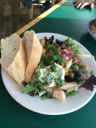 The Grateful Bread Bakery & Restaurant: Fiesta Chicken Salad at Grateful Bread