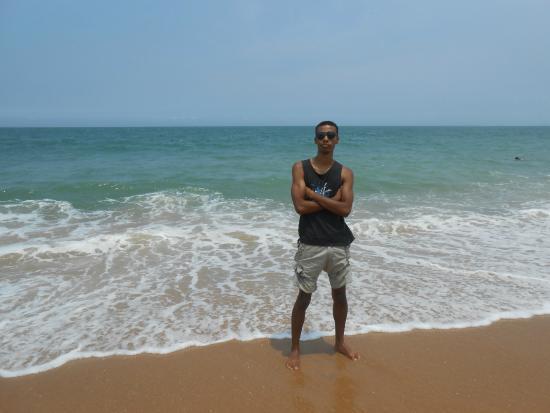 Abrico Beach: Água gelada