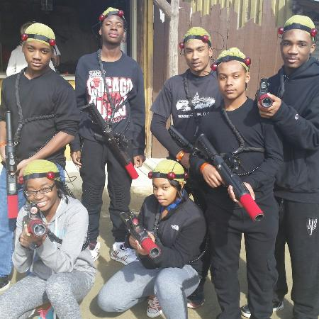 Kersey Valley Laser Tag: The team