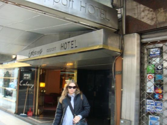 Cordoba 860: Fachada do hotel