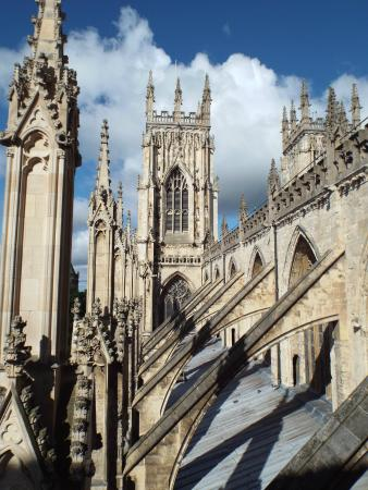 York Minster View Of The Flying Buttresses