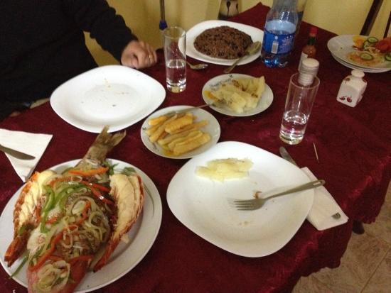 Hostal MiraLuna: La cucina di Olga 10 e lode!