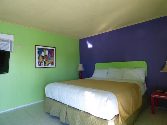 9 Palms Inn: King room