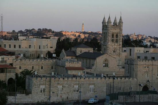 Leonardo Hotel Jerusalem: Вид из окна