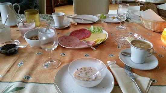 Wimbach, Deutschland: breakfast