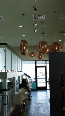 Water Street Coffee Joint: Eating area