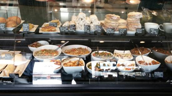 Water Street Coffee Joint: Salads and sandwiches