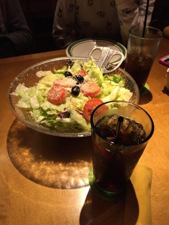 Salad Picture Of Olive Garden Orlando Tripadvisor