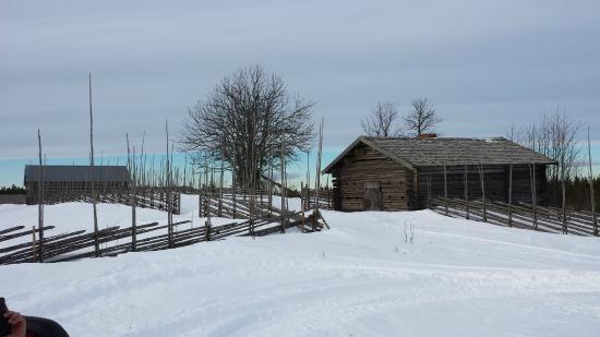 Ljusdal, Sverige: Oud hedders gehuchtje