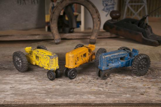 National Farm Toy Museum: Antique Hubley Tractors