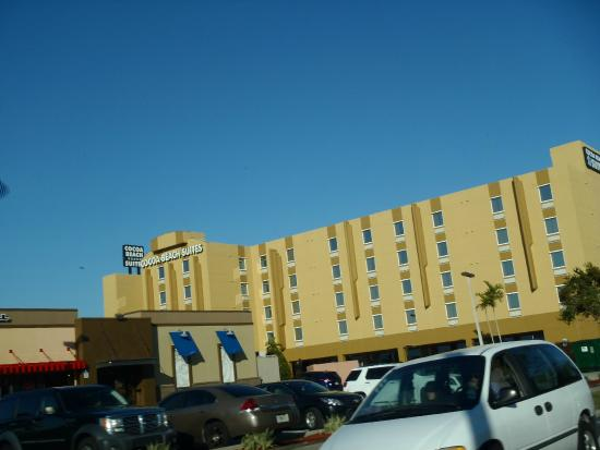 Arrival to Cocoa Beach Suites.....