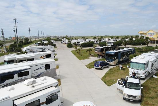 Overview Of Spacious Sites Picture Of Jamaica Beach Rv