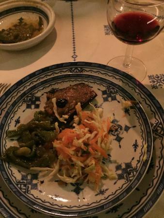 Riad Zamane: Diner