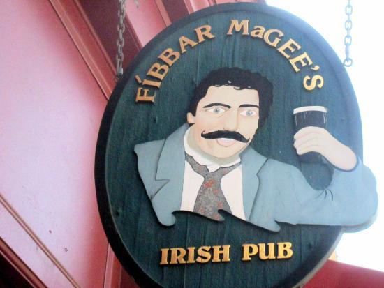 Fibbar MaGees: Fibbar McGees, Murphy Avenue, Sunnyvale, Ca