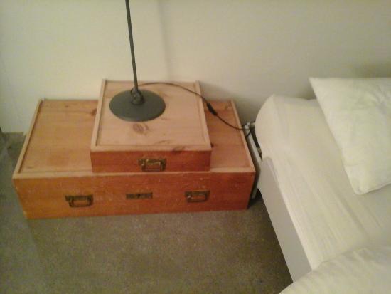 Piz Linard: bedside table