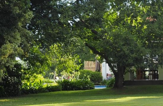 Broadlands Country House: The power of suggestion: subtle arches and portals in the foliage tease our inner explorer.