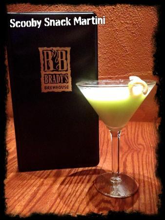 Brady's Brewhouse: Scooby Snack Martini